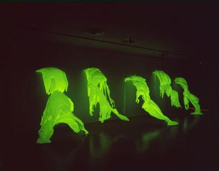 Phantom (1971) by Lynda Benglis