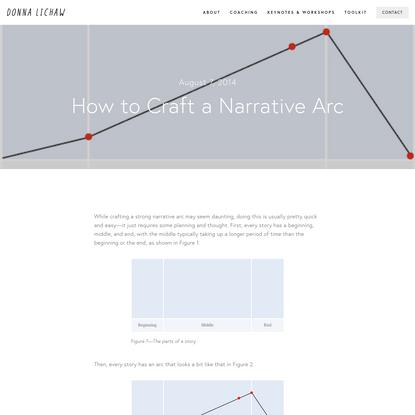 How to Craft a Narrative Arc