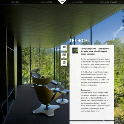 The Hotel - Juvet