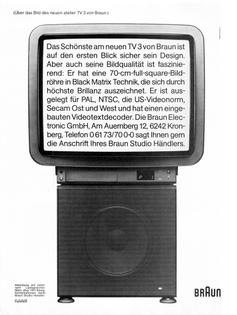 Braun Atelier TV 3