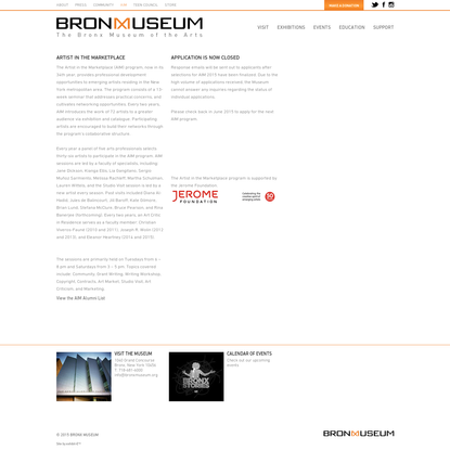 Aim - The Bronx Museum of the Arts