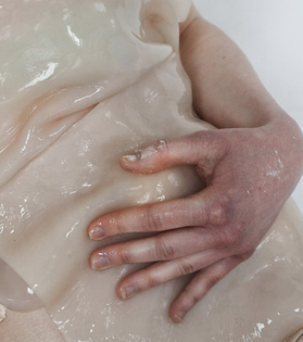 Wetgarment: clothing made from cellulose material by Ali Schachtschneider (2015)