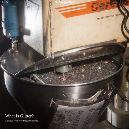 What Is Glitter?
