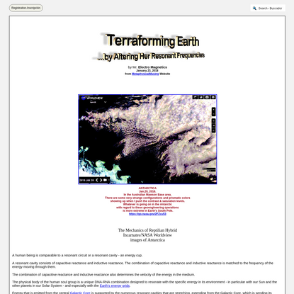 Terraforming Earth by Altering Her Resonant Frequencies