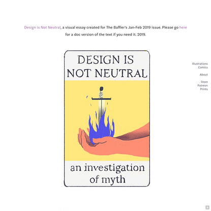 Design is Not Neutral - colleentighe