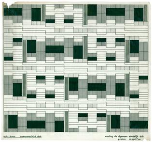 Piet Blom, Living as Urban Roof, 1965