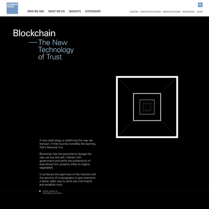 Blockchain: The New Technology of Trust