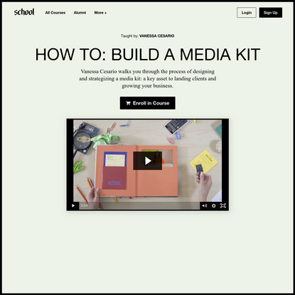 How To: Build A Media Kit