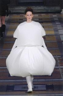 ISSEY MIYAKE Inflatable dress FW 2000