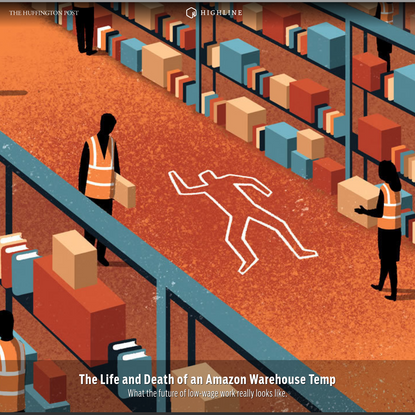 The Life and Death of an Amazon Warehouse Temp