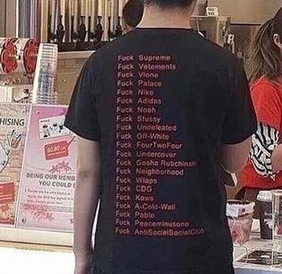 opinionated tshirt clothe
