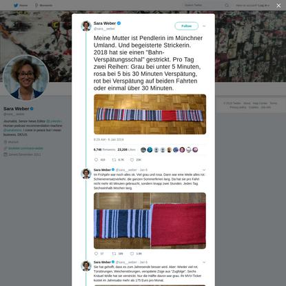 Sara Weber on Twitter