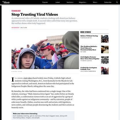 Stop Trusting Viral Videos