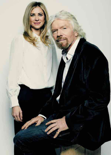 Jacket and Jeans - Richard Branson