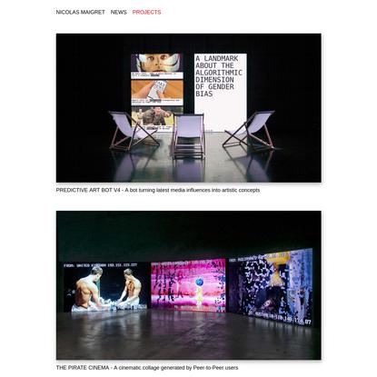 Projects : Nicolas Maigret