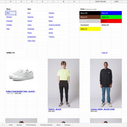 Shop Menswear | Han Kjøbenhavn