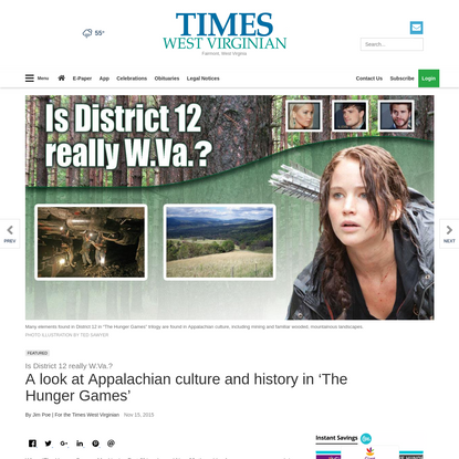 A look at Appalachian culture and history in 'The Hunger Games'