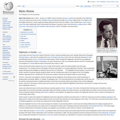Myles Horton - Wikipedia
