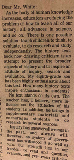 on teaching independent research
