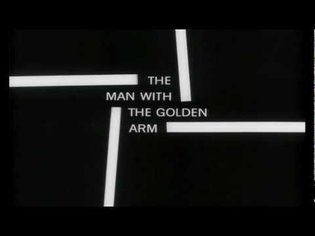 Saul Bass title sequence - The Man with the Golden Arm (1955)