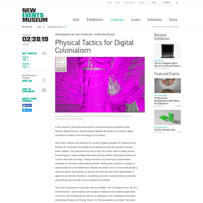Physical Tactics for Digital Colonialism