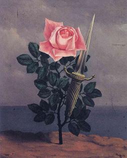 René Magritte, Le coup au coeur, 1952