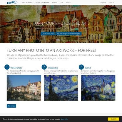 deepart.io - become a digital artist
