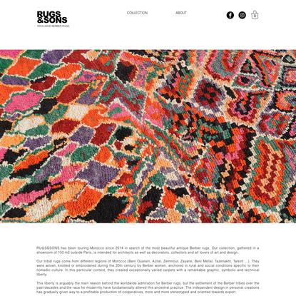 Rugs&Sons | Berber Vintage Rugs | France
