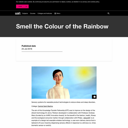 Smell the Colour of the Rainbow
