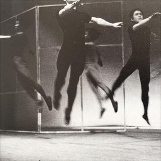 """Jikken Kōbō, Illumination from """"Experimental Ballet Theatre, 1955. Photo Ōtsuji Kiyoji"""