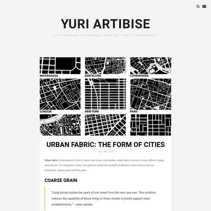 Urban Fabric