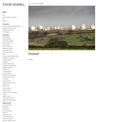 Ultimate High Ground : Steve Rowell