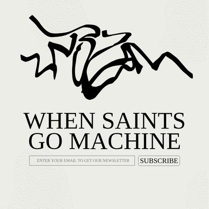When Sains Go Machine