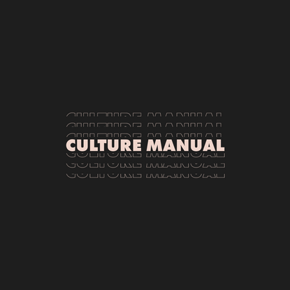 Wealthsimple Culture Manual