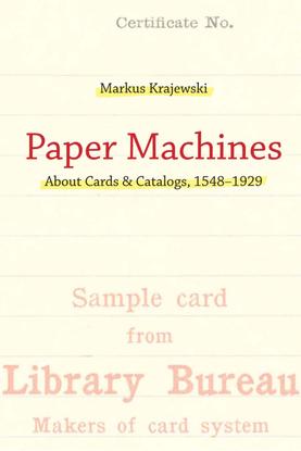 Krajewski - Paper Machines