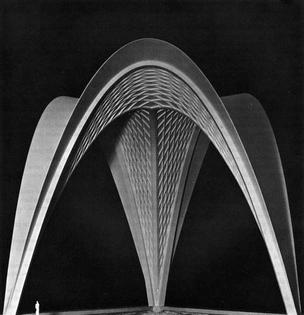 Nervi - Parabolic Roof Vaults