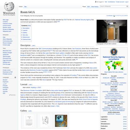 Room 641A - Wikipedia