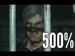 Resident Evil 2 but 500% facial animations 2