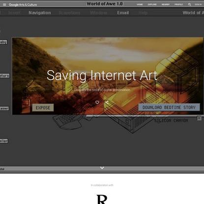 Saving Internet Art - Google Arts & Culture