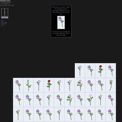 The Rose Gallery :: Sister Unn's
