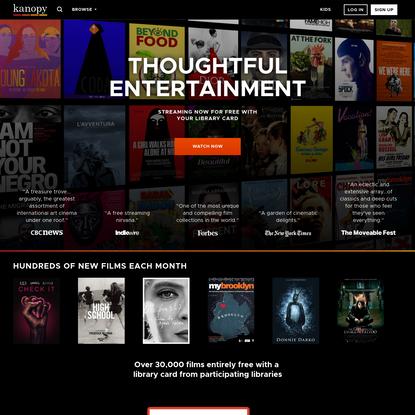 Kanopy - Stream Classic Cinema, Indie Film and Top Documentaries