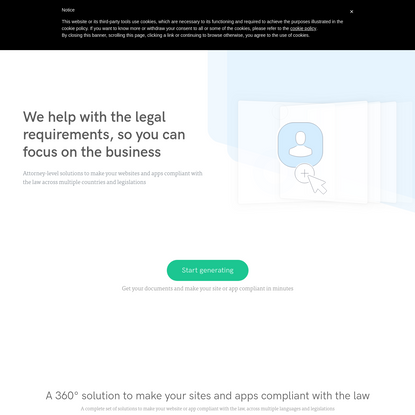 Privacy & Cookie Policy Generator - for Websites and Apps | iubenda