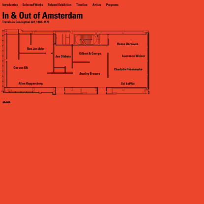 MoMA | In & Out: Travels in Conceptual Art, 1960-1976