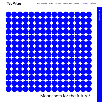 TecPrize | Moonshots for the Future®