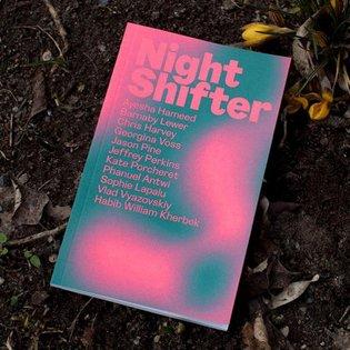 * @printedmatterinc Edited by Martin Kohout and Dan Meththananda At TLTR Press Night Shifter * #stunningbookdesigns #stunnin...