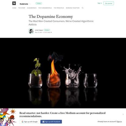 The Dopamine Economy - Eudaimonia and Co