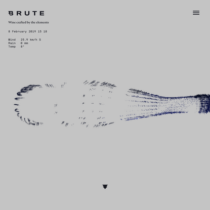 BRUTE - Wine crafted by the elements