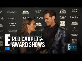 Jim Carrey Sounds Off on Icons and More at NYFW 2017   E! Red Carpet & Award Shows