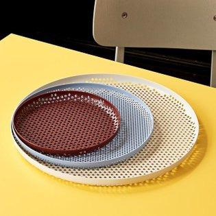 Suitable for carrying, displaying or storing items, the multifunctional Perforated Tray comes in a variety of sizes and colo...