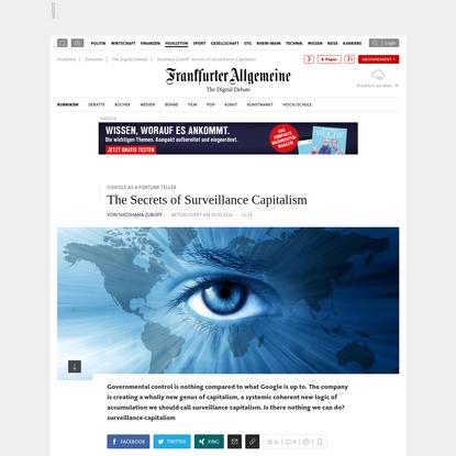 Google as a Fortune Teller: The Secrets of Surveillance Capitalism